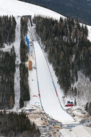 Telemark skispringen