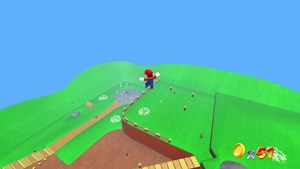 Das HD-Remake des Klassikers Super Mario 64.