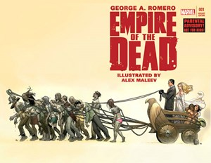 "Der Marvel Comic ""Empire of the Dead"" ist als TV-Serie geplant."