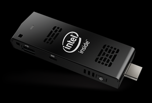 Der Intel Compute Stick.