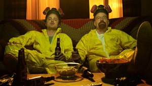 "Jesse Pinkman und Walter White – ""Breaking Bad""."