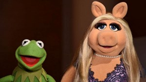 Kermit (links) und Piggy.