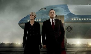 "Robin Wright und Kevin Spacey in ""House of Cards""."