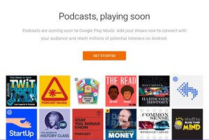 Coming soon: Podcast-Support in Google Play Music.