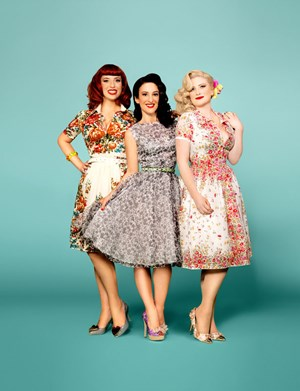 The Puppini Sisters: sexy & besinnlich wie einst die Andrews Sisters.