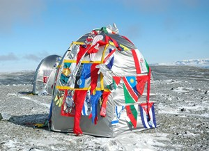 "Lucy and Jorge Orta: ""Antarctic Village-No Borders"", 2007"