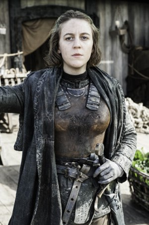 "Gemma Whelan als  Asha Graufreud in ""Game of Thrones""."