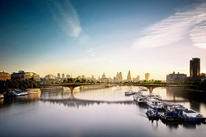 "Crowdfinanzierte Garden Bridge in London: ""Kein Gerenne, keine Picknicks."""