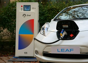 Enel hängt den Leaf als Puffer-Element in den Smart Grid.
