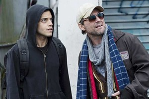 """Mr. Robot"" mit Rami Malik (links)."