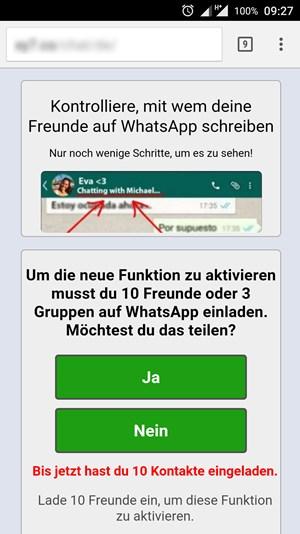 whatsapp: malware aus kettenbrief setzt handys außer gefecht - it, Einladung