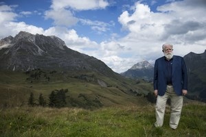 James Turrell in Lech, September 2014.