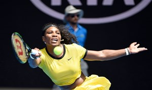 Serena Williams steht in Melbourne im Semifinale.