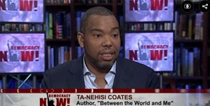 "Journalist und Autor Ta-Nehisi Coates in ""Democracy Now""."