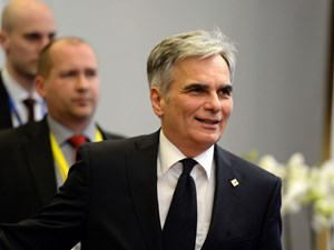 Faymann optimistisch.