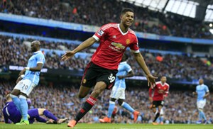 Shootingstar Marcus Rashford.