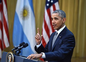 Barack Obama in Buenos Aires