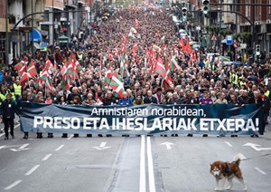Demonstration in Bilbao
