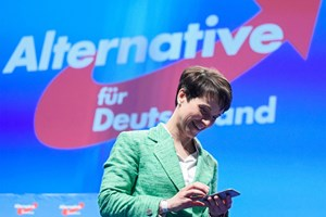 AfD-Chefin Frauke Petry am Parteitag.