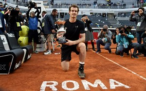 Vor den French Open in Topform: Andy Murray.