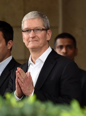 Tim Cook in Indien.