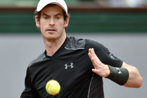 Harter Arbeitstag: Andy Murray.
