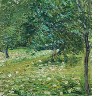 "Richard Gerstl, ""Obstgarten"", Sommer 1907."