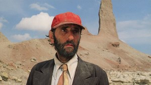 "Sein Gesicht ist eine Geschichte: Harry Dean Stanton in der Hauptrolle seines Lebens, als Travis Henderson in Wim Wenders' 1984 erschienenem Roadmovie ""Paris, Texas""."
