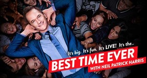 "Neil Patrick Harris moderiert ""Best Time Ever""."