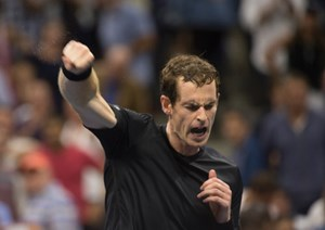 In Topform: Andy Murray.