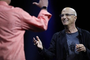 Apple-Manager Jimmy Iovine.