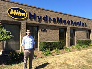 Sebastian Seiter ist Supply Chain Analyst und Project Manager bei der Miba HydraMechanica Corporation in Sterling Heights, USA.