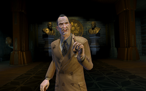 "Andrew Ryan in ""BioShock""."