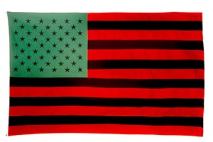 African American Flag von David Hammons.