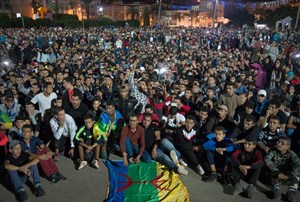 Proteste in Al Hoceima.
