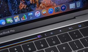 "Die ""Touch Bar"" des neuen Macbook Pro."