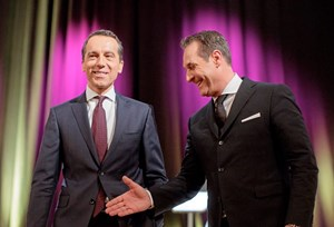 FPÖ-Obmann Heinz-Christian Strache (rechts) reicht die Hand, doch auf eine Koalition will SPÖ-Chef Christian Kern noch lange nicht einschlagen: Die Schnittmengen sind kleiner, als sie erscheinen.