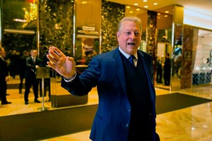 Al Gore im Trump-Tower.