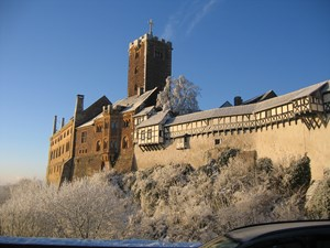 Wartburg Winter, Eisenach