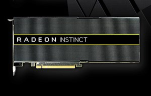 Das High-End-Modell Radeon Instinct MI25.