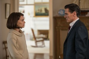 Natalie Portman (Jackie Kennedy), Billy Crudup (Journalist)