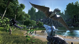 "Platz drei: ""Ark: Survival of the Fittest"""