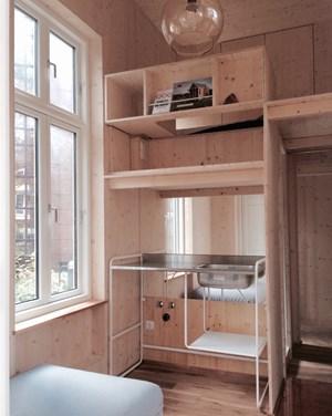 Winzig wohnen 6 4 quadratmeter um 100 euro architektur for Wohnung minimalistisch