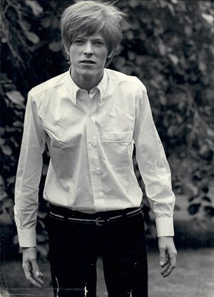 "Bowie in ""The Image""  von Michael Armstrong."