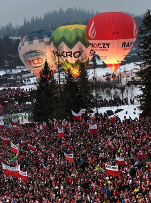 Volles Haus in Zakopane.