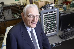 John Goodenough, Miterfinder der Lithium-Ionen-Technologie.
