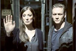 "Matthias Schweighöfer, Alexandra Maria Lara: ""You Are Wanted""."