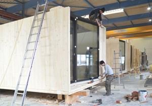 dornbirn das hotelzimmer aus der produktionshalle immo region west immobilien. Black Bedroom Furniture Sets. Home Design Ideas