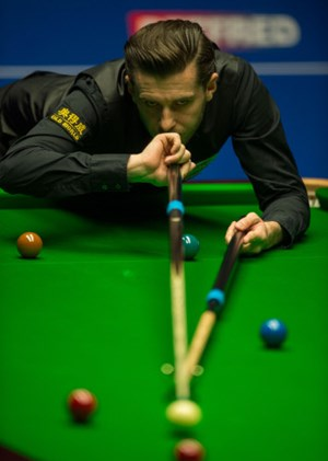 """The Jester from Leicester"" Mark Selby."