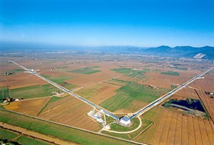 Das Virgo-Interferometer nahe Pisa.